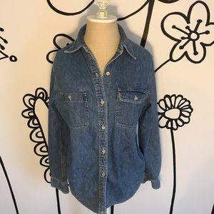 Vintage Lauren Ralph Lauren Denim Button Up Shirt